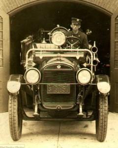 История пожарных машин в США