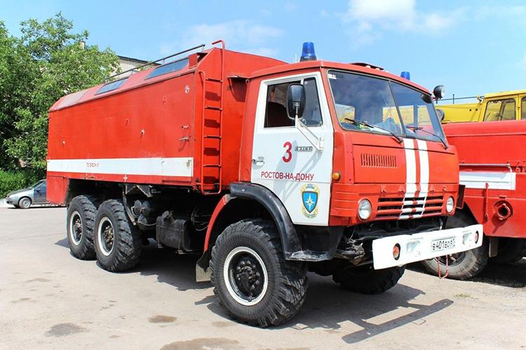 Пожарный рукавный автомобиль