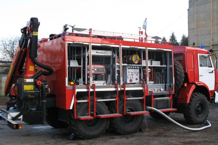 Пожарный аварийно-спасательный автомобиль