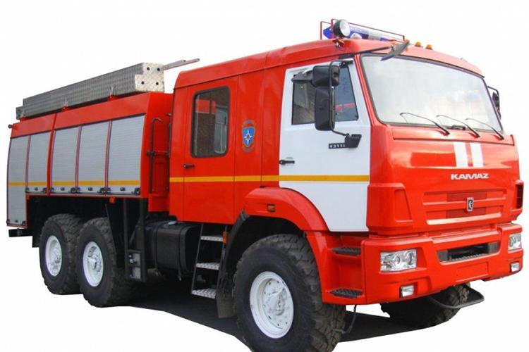 Пожарный автомобиль насосно-рукавный