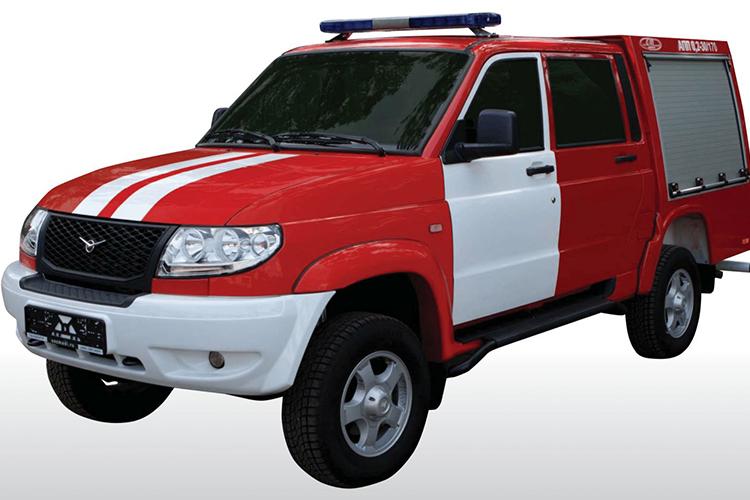 Пожарный автомобиль первой помощи