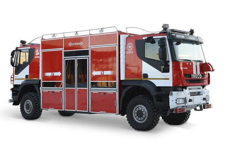 Пожарно-спасательный автомобиль