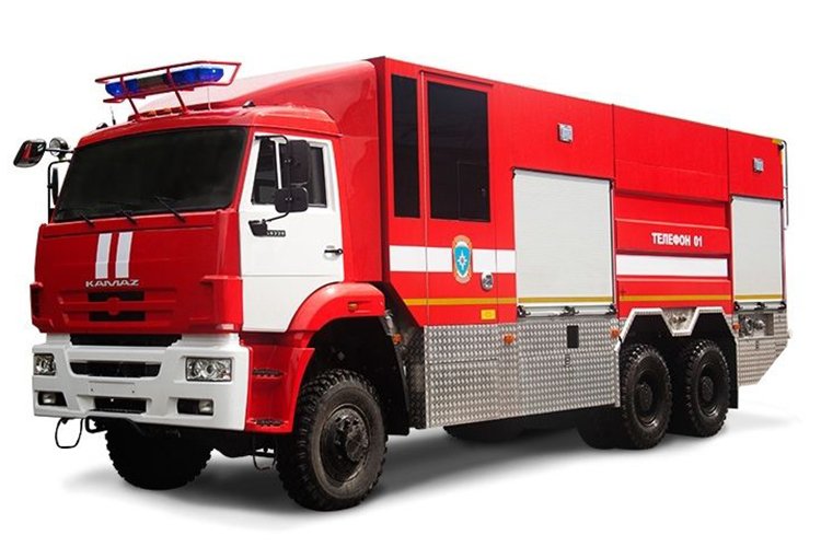 Пожарный автомобиль пенного тушения