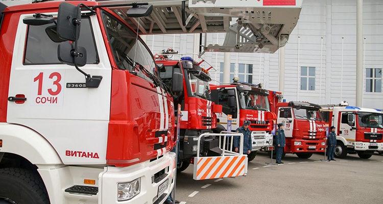 Специальные пожарные и аварийно-спасательные автомобили