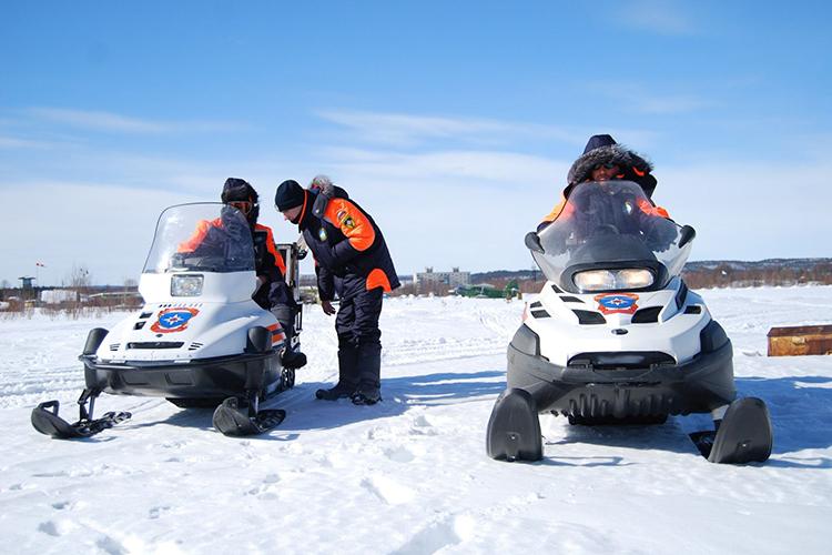 Спасательные ТС на базе снегоходов «Буран»