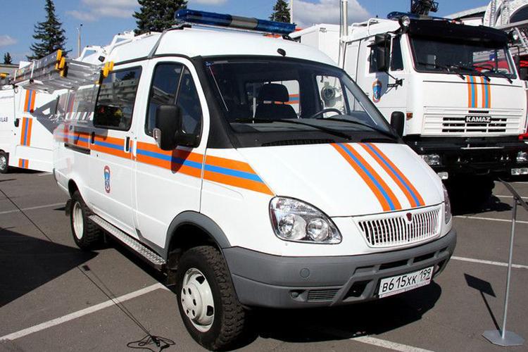 АСМ-41-02 на базе ГАЗ-27057