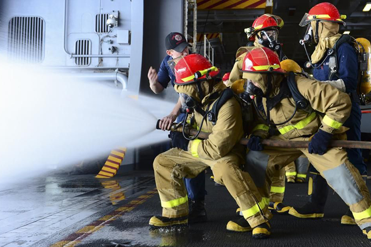 Боевые действия по тушению пожаров