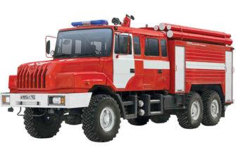 Виды ТО пожарных автомобилей