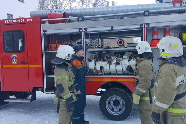 Меры безопасности при проведении ТО пожарных машин