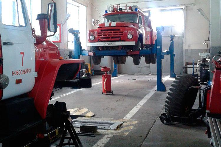 Виды ремонта пожарных машин