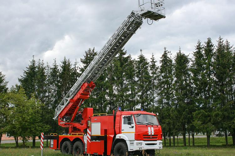 Расчет высоты пожарной автолестницы