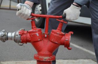 Испытание пожарного гидранта