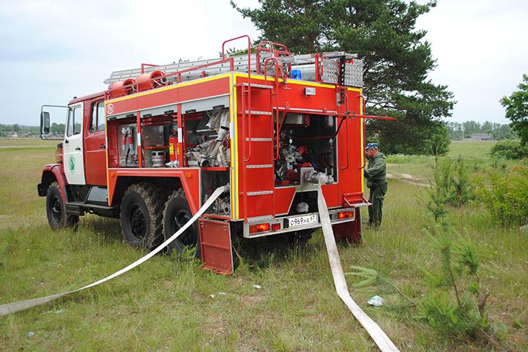 Классификация ПТВ пожарной машины