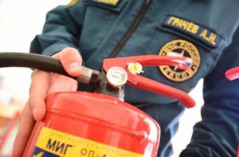 Подготовка к пожарной проверке