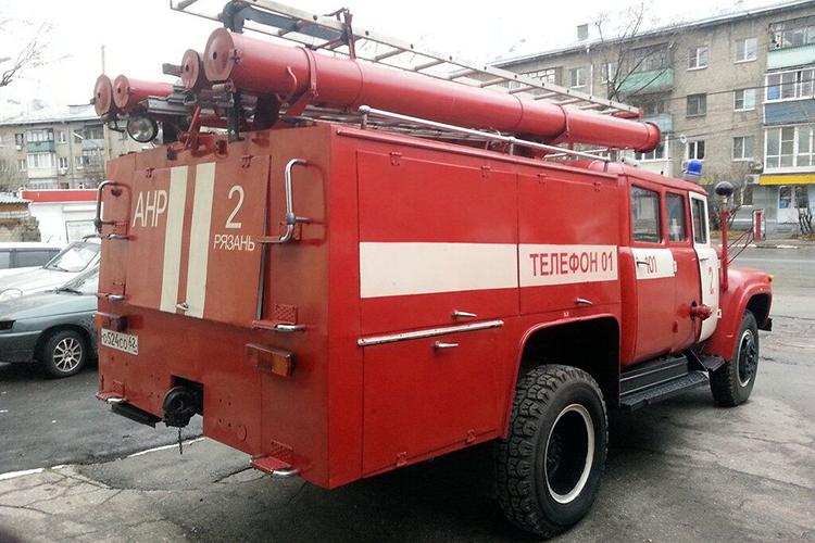 Пожарный автомобиль ЗИЛ 130