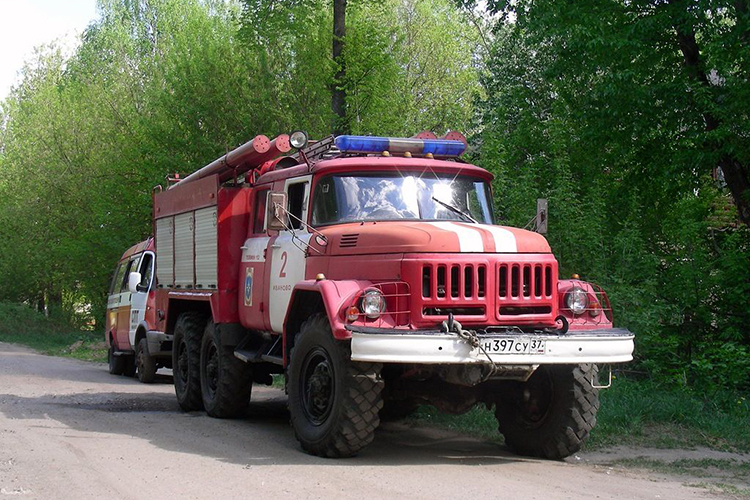 Пожарный автомобиль ЗИЛ 131