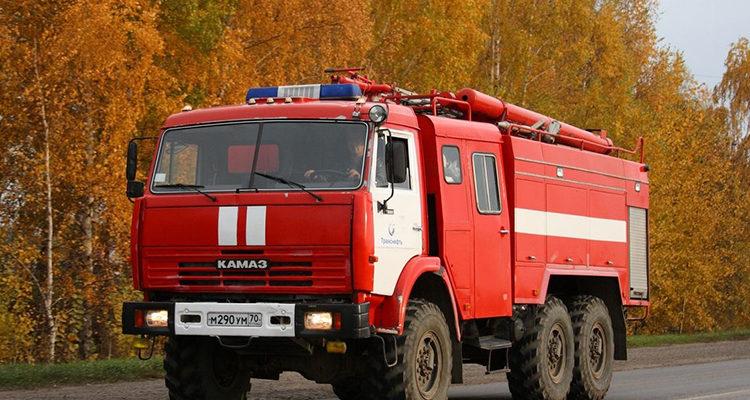 Пожарный автомобиль КамАЗ