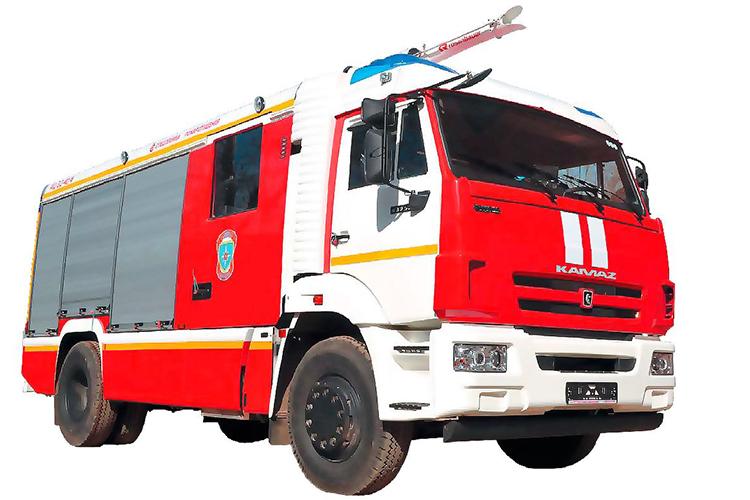 Пожарные автомобили на шасси КамАЗ