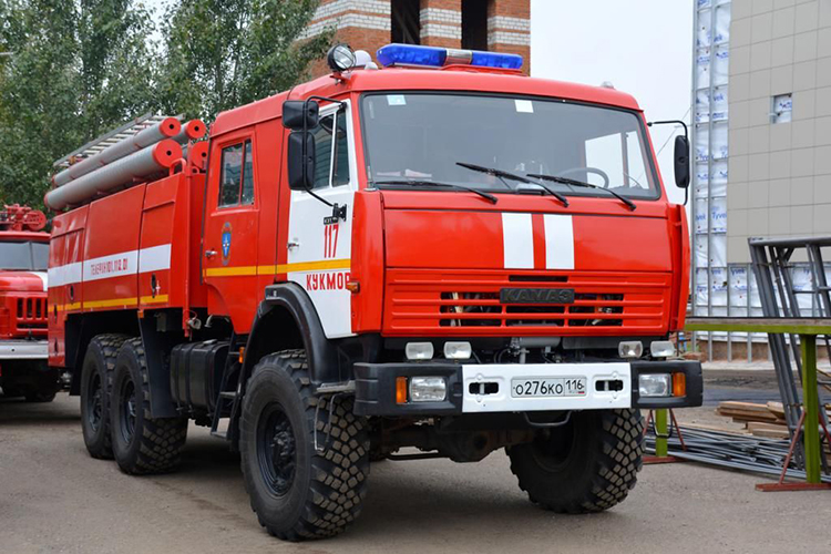 Пожарный автомобиль КамАЗ 43118