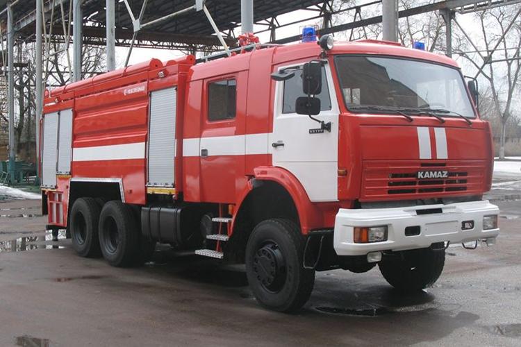 Машины на шасси КамАЗ-65111