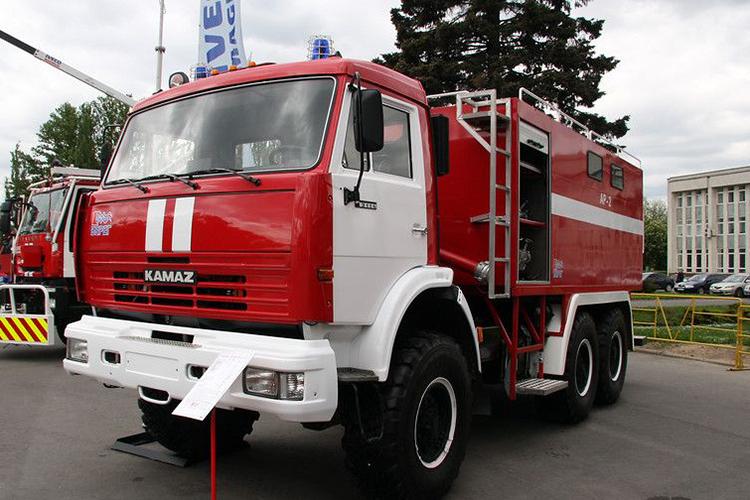 Пожарный рукавный автомобиль АР-2 (КамАЗ 43114)