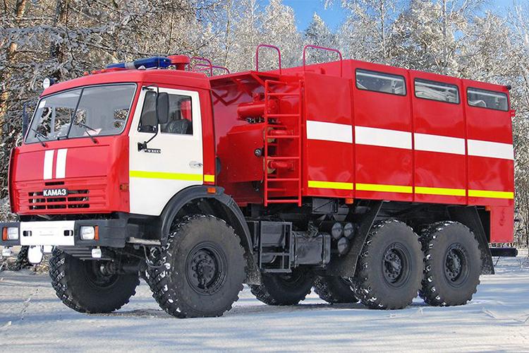 Пожарный рукавный автомобиль АР-2 (КамАЗ 5350)