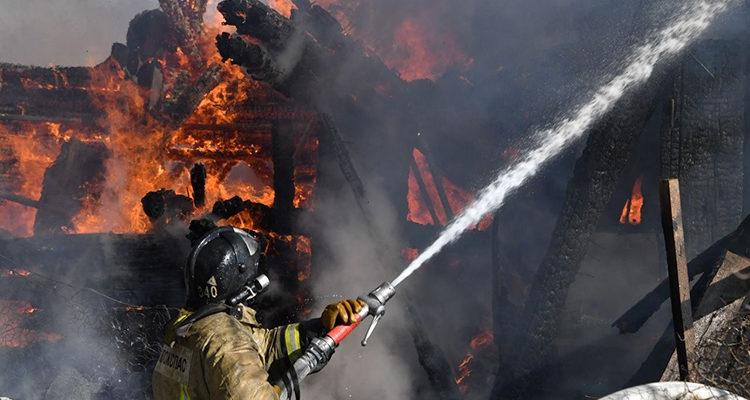 Особенности тушения пожаров на открытых пространствах