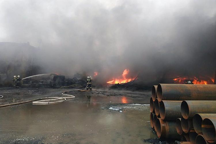 Тушение пожаров на открытых пространствах