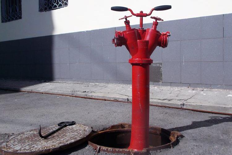 Осмотр пожарного гидранта