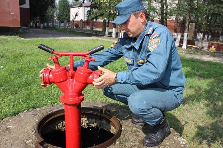 Проверка технического состояния пожарных гидрантов
