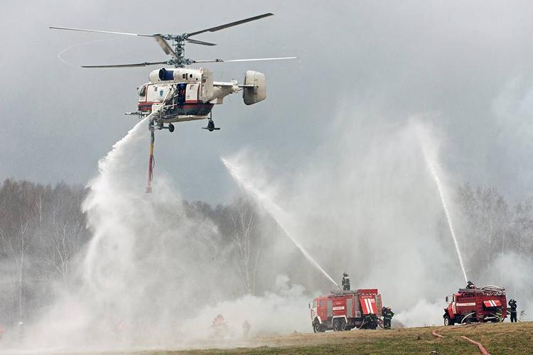 Спецтехника при тушении лесных пожаров