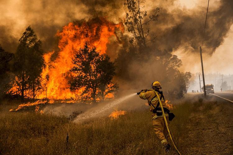 Тушение пожаров