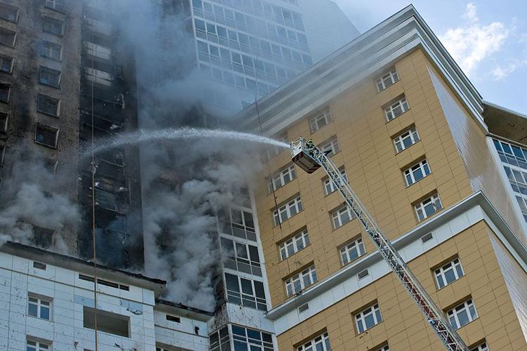Тактика тушения пожаров в зданиях