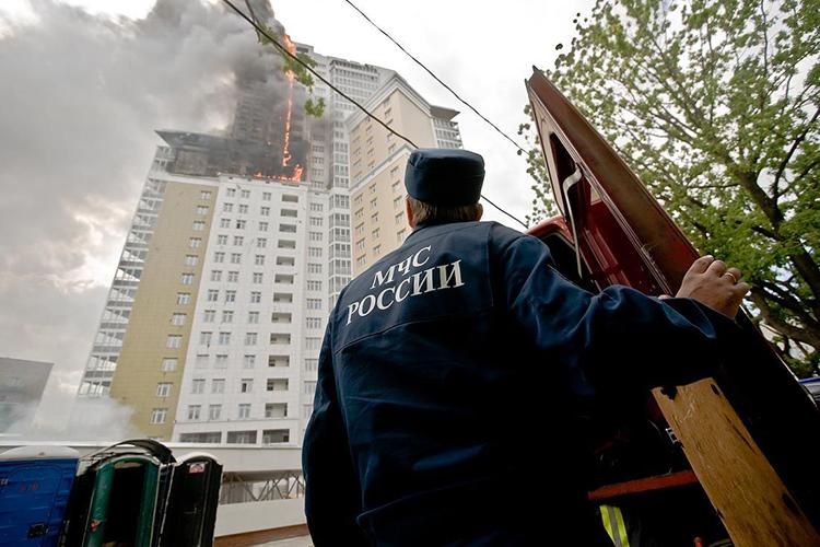 Тактика тушения пожаров в высотных зданиях