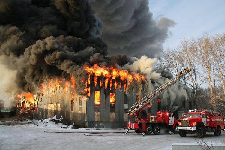Тактика тушения пожаров в поврежденных зданиях