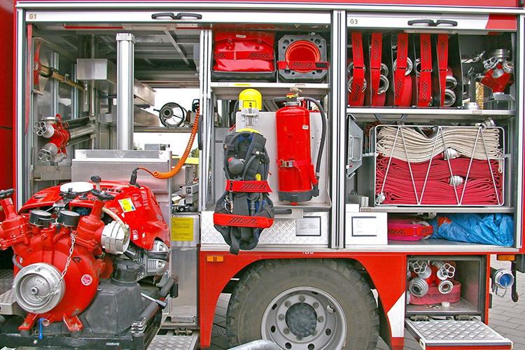 Комплектация пожарной машины