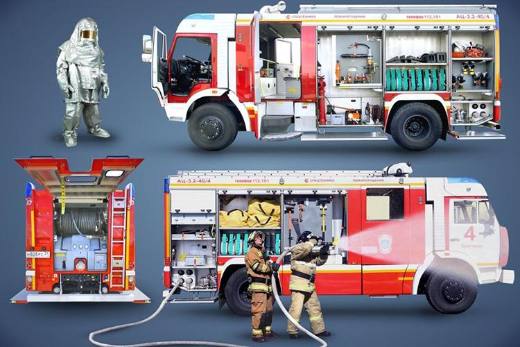 Переоборудование пожарного автомобиля