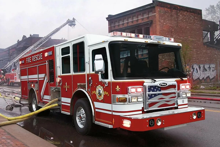 Американский пожарный автомобиль Pierce