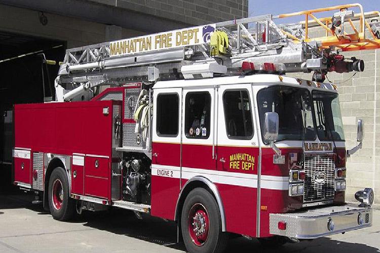 Американский пожарный автомобиль E-One