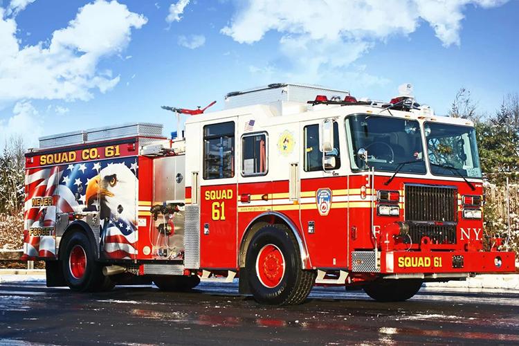 Американский пожарный автомобиль Seagrave Fire Apparatus