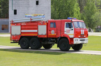 Допуск на пожарный автомобиль