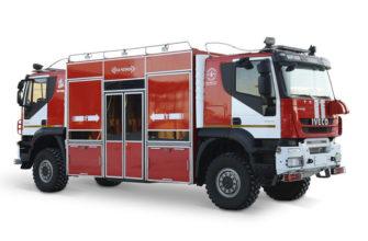 Новейшие пожарные автомобили