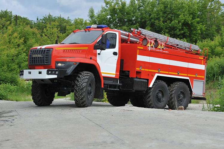 Пожарные автомобили - обновление автопарка