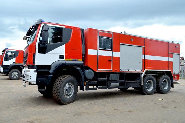 Новые пожарные автомобили