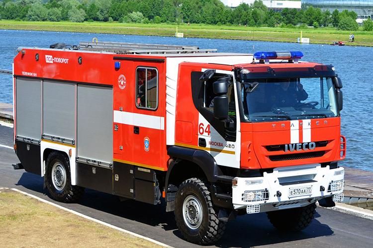 Пожарные автомобили на базе IVECO-AMT