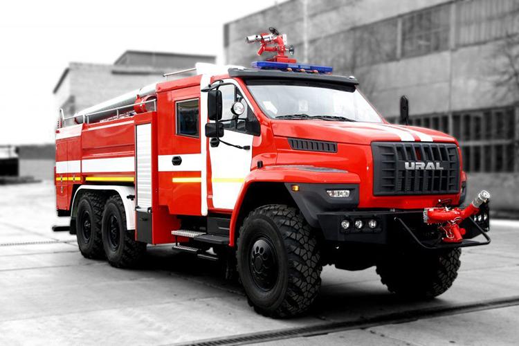 Пожарные автомобили на шасси Урал