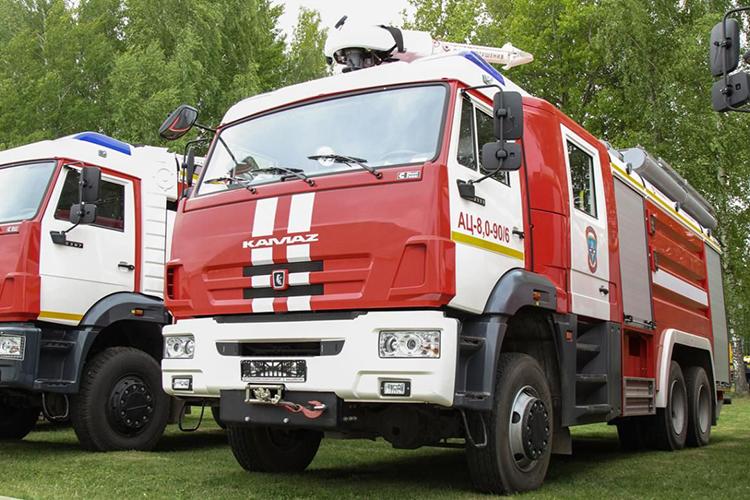 Пожарные автомобили  КАМАЗ