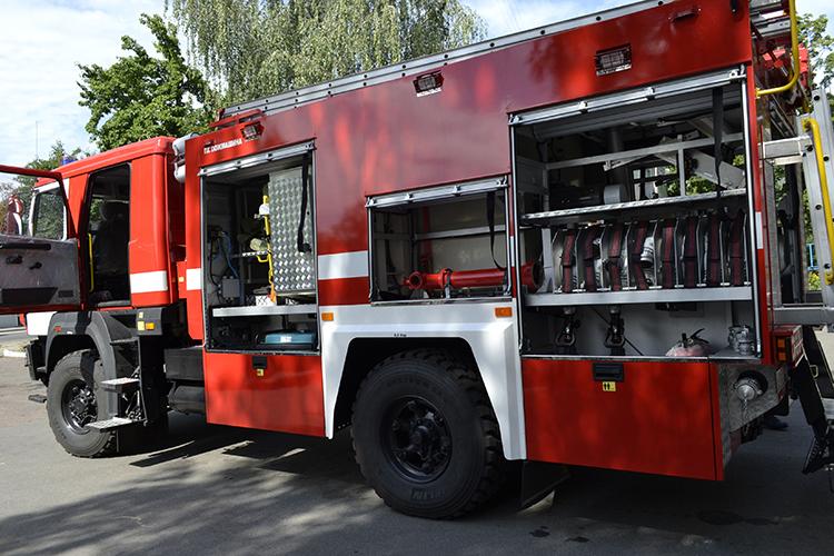 Новое оборудование пожарных автомобилей