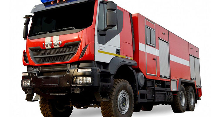 Пожарная машина Ивеко