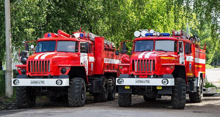 Пожарные машины УРАЛ